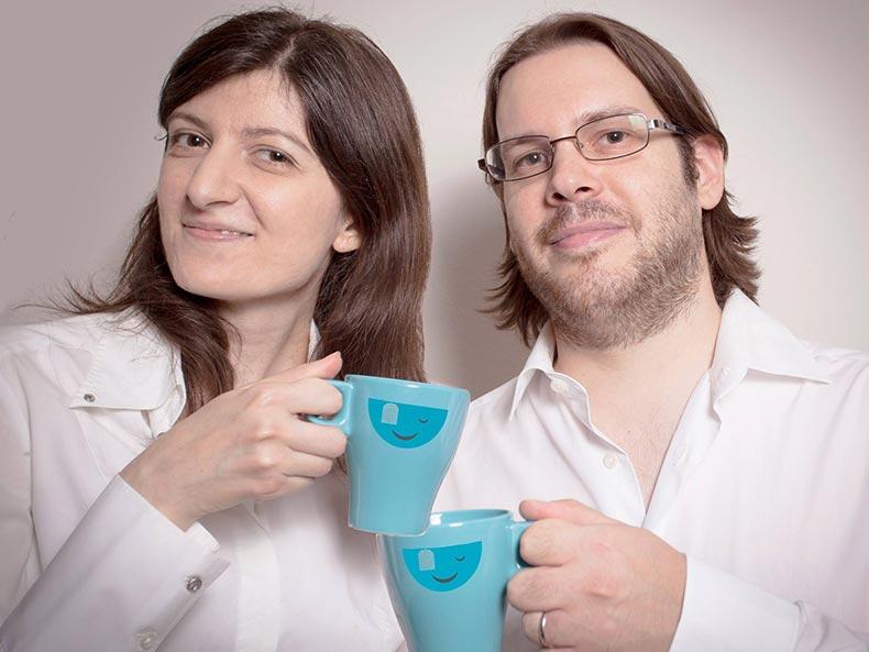 Elena e Lorenzo di A cup of web