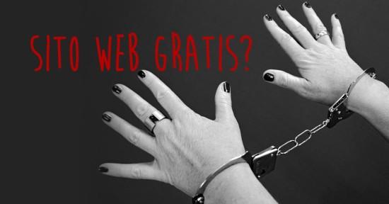 Siti web gratis: ecco perché spesso sono una fregatura