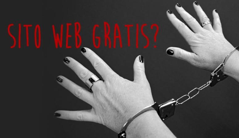 Siti web gratis: ecco perché sono una fregatura