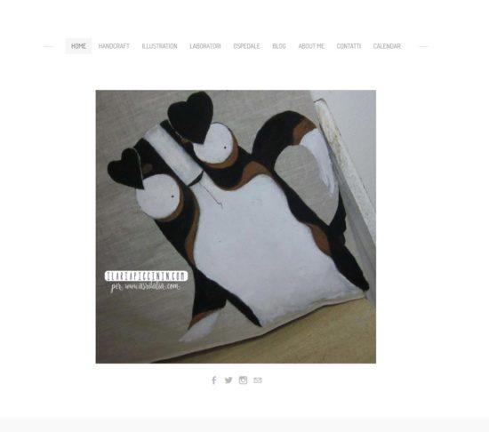 Check-up sito web: Ilaria Piccinin