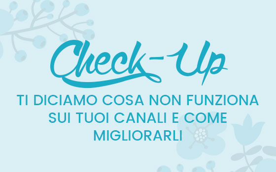 Check up sito web e social