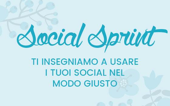 Social Sprint: il corso individuale per imparare a gestire i tuoi social