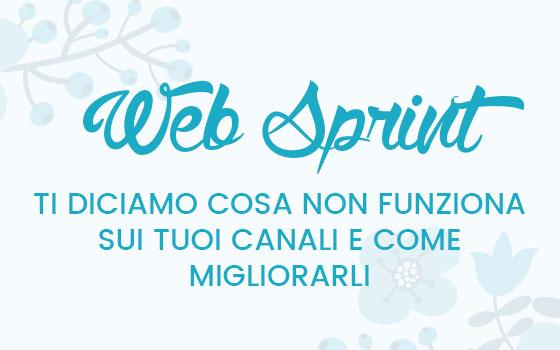 Web Sprint: fai ripartire i tuoi canali web nel modo giusto!