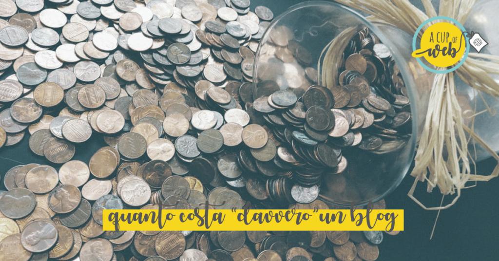 Quanto costa (davvero) aprire un blog!