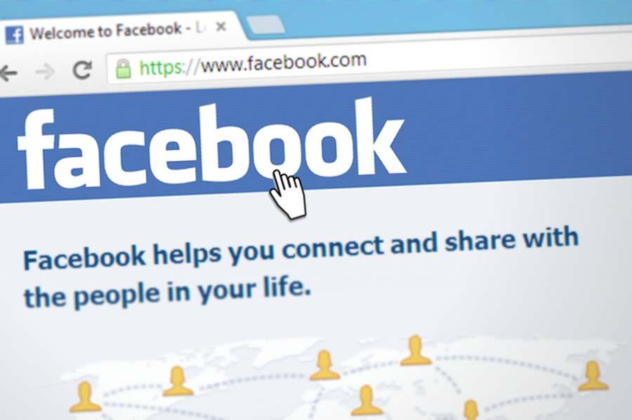 facebook o sito web