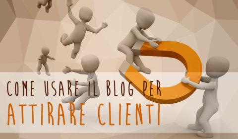 blog per vendere