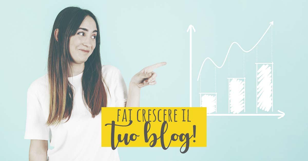 aumentare visite blog