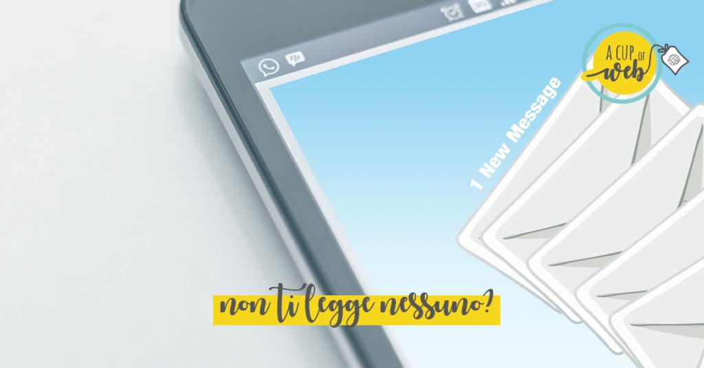 La tua newsletter non decolla? Ecco dov'è il problema…