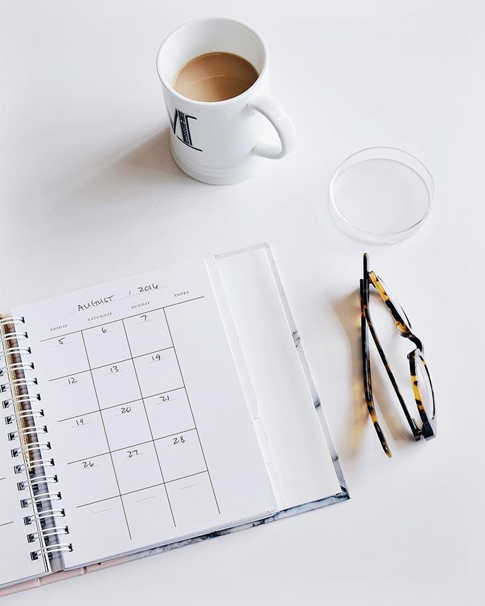 calendario editoriale cartaceo agenda