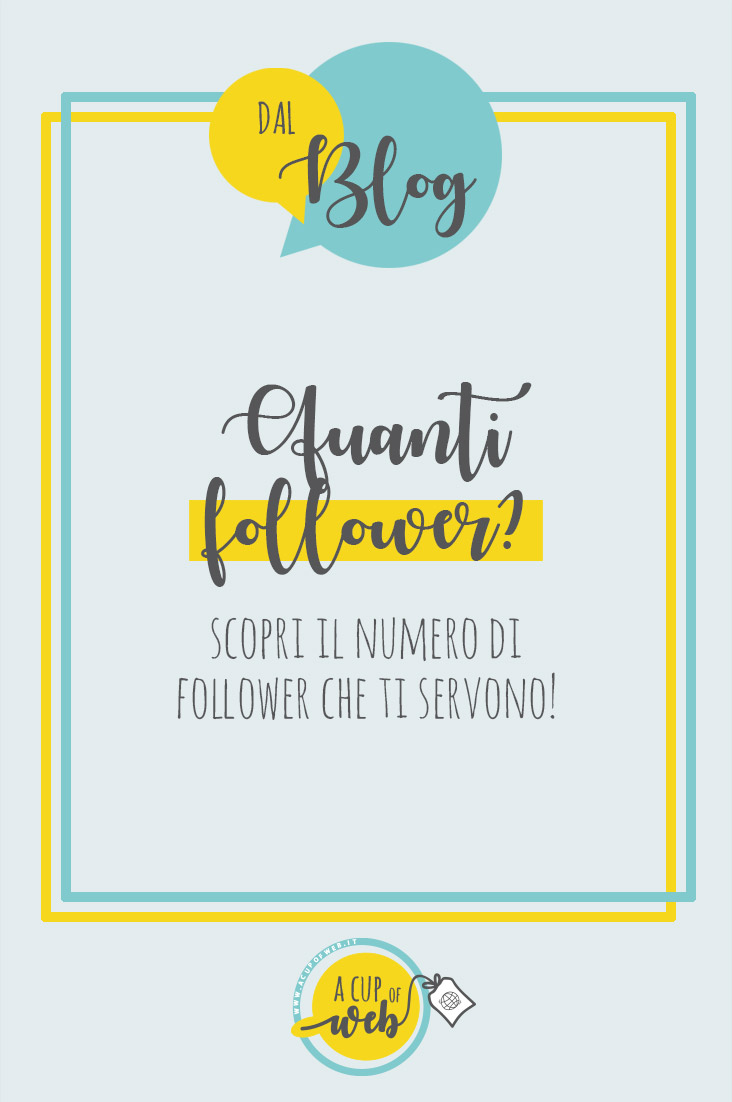 quanti follower servono