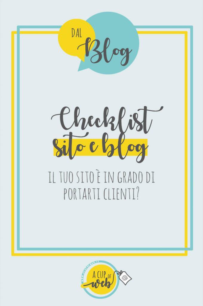 checklist sito