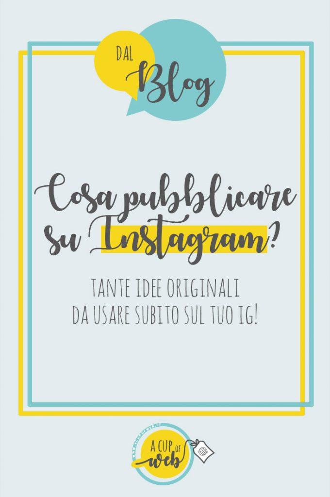 idee post instagram