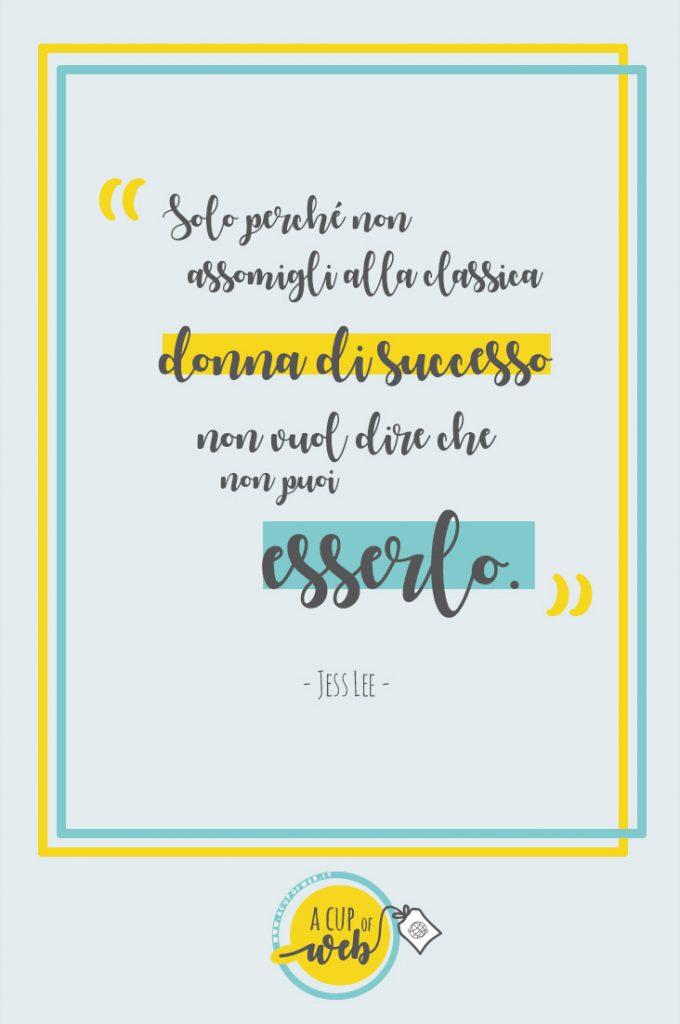 citazione imprenditrice donna successo