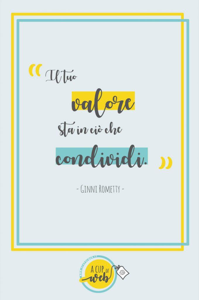 citazione imprenditrice valore