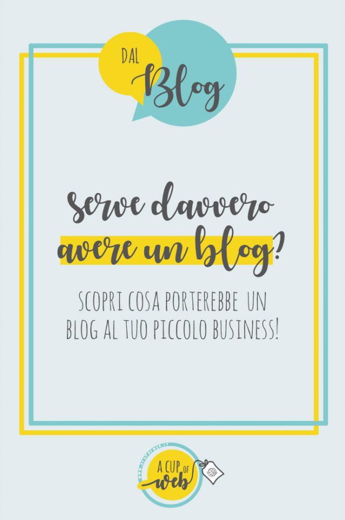 perchè aprire un blog piccolo business crafter