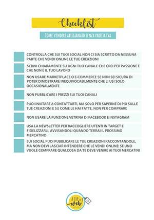 checklist vendere artigianato online