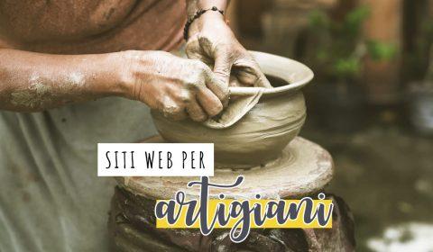 siti web per artigiani