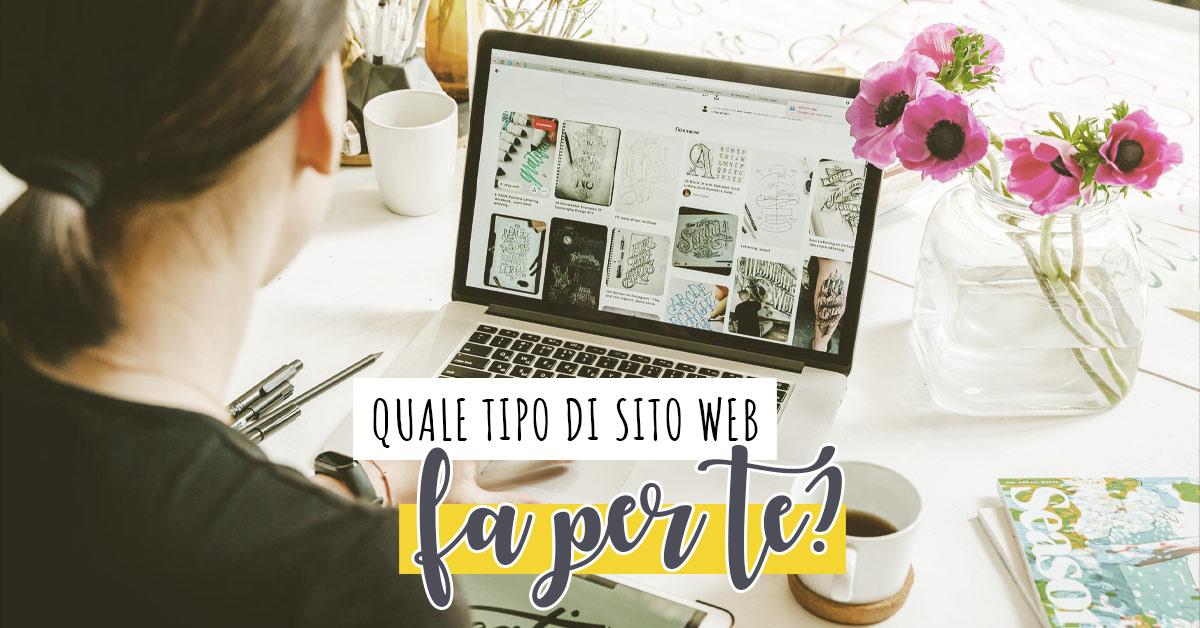 tipologie di siti web